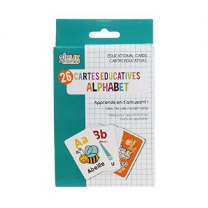 , Jeux 2 Momes EA5014 Carte Educative Mots, Papier, Multicolore, 7,9 x 12 x 0,1 cm