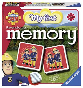 , Ravensburger- My First Grand memory®- Sam le Pompier- Jeu Educatif- A partir de 2 ans et demi- 21204